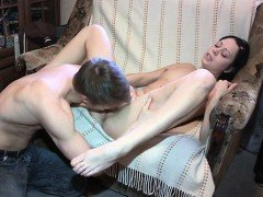Constricted pussy enjoys...